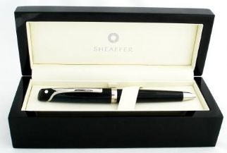 Sheaffer Valor Ballpoint Pen in Deep Blue with Palladium Plate Trim